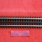 "6050 Atlas O scale 3 rail 10"" straight track"