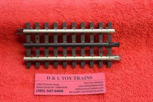 "6051 Atlas O scale 3 rail 4 1/2"" straight track"