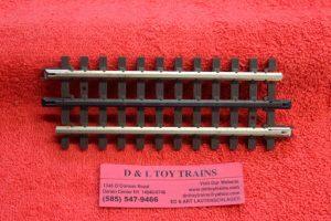 "6053 Atlas O scale 3 rail 5 1/2"" straight track"