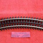 6066 Atlas O scale 3 rail O-36 curve track