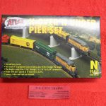 2541 Atlas N scale over n under pier set