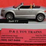 3009921 Atlas O scale 2 or 3 rail Audi TT convertible car