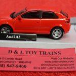 3009922 Atlas O scale 2 and 3 rail Audi A3 car