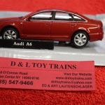 3009923 Atlas O scale 2 or 3 rail Audi A6 car