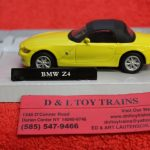 3009926 Atlas O scale 2 and 3 rail BMW Z4 convertible car