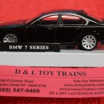 3009928 Atlas O scale 2 and 3 rail BMW 7 series car