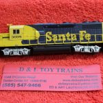 40004789 Atlas N scale Santa Fe GP39-2 phase 2 diesel engine