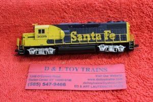 40004789 Atlas N scale Santa Fe GP39-2 phase 2 diesel engine