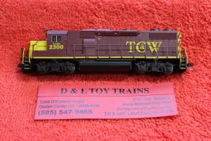 40004791 Atlas N scale Twin Cities Western GP39-2 phase 2 diesel engine