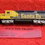40004803 Atlas N scale Santa Fe GP39-2 phase 2 diesel engine