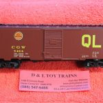 4132 Kadee HO scale Chicago Great Western 40' PS-1 boxcar