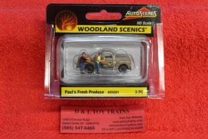 5561 Woodland Scenics HO scale Paul's fresh produce
