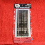 "521 Atlas HO scale code 83 6"" straight track"