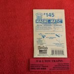 K145 Kadee HO scale #140 series whisker short overset shank coupler