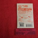 K146 Kadee HO scale #140 Series whisker long centerset shank couplers