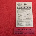 K148 Kadee HO scale #140 series whisker medium centerset shank coupler