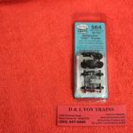 K564 Kadee HO scale 50 ton Bettendorf HGC trucks