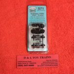 K571 Kadee HO scale Andrews HGC trucks