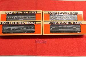 16091 Lionel O-27 scale 3 rail New York Central 4 car passenger car set