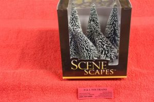 """32002 Bachmann 5""""-6"""" Pine trees with snow"""