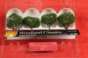 """3504 Woodland Scenics 2""""-3"""" sun kissed trees"""