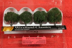 "3505 Woodland Scenics 2""-3"" Cool shade trees"