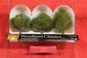 "3506 Woodland Scenics 3""-4"" Early light trees"