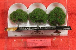 """3507 Woodland Scenics 3""""-4"""" Sun kissed trees"""