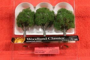 """3510 Woodland Scenics 4""""-5"""" Sun Kissed trees"""