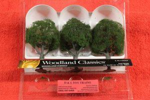 """3511 Woodland Scenics 4""""5"""" Sun Kissed trees"""