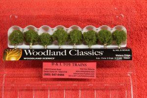 """3531 Woodland Scenics 3/4""""-1 1/4"""" Water's edge trees"""