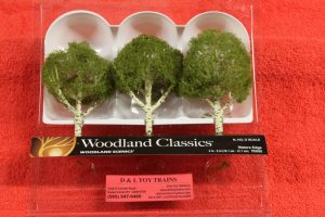 "3535 Woodland Scenics 4""-5"" Waters Edge trees"
