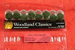 "3547 Woodland Scenics 3/4""-1 1/4"" Cool shade trees"