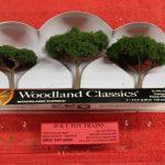 """3555 Woodland Scenics 2""""-3 1/2"""" Canopy trees"""