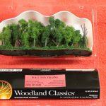 "3582 Woodland Scenics 1""-4"" Hedgerow trees"