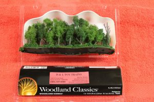 "3582 Woodland Scenics 1""-4"" Hedgerow trees"