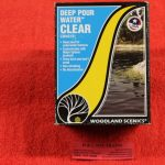 Woodland Scenics Clear deep pour water kit