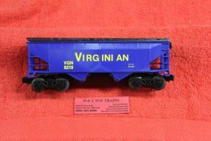 6219 K Line O scale 3 rail Virginian covered hopper car