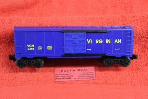 6418 K lIne O scale 3 rail Virginian single door box car