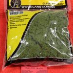 FC182 Woodland Scenics light green clump foliage