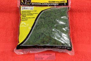 FC183 Woodland Scenics green clump foliage