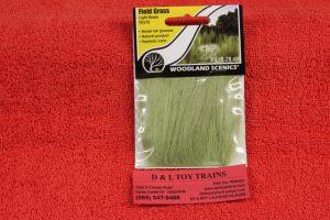 FG173 Woodland Scenics Light Green field grass