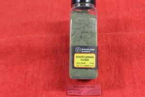 FL634 Woodland Scenics Light Green static grass flock
