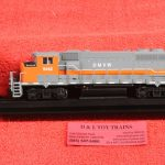 10002697 Atlas HO scale Dakota Missouri Valley & Western GP40-2 diesel engine