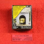 1152 Woodland Scenics N Scale concrete single tunnel portal