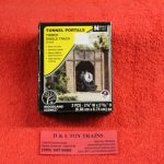 1154 Woodland Scenics N scale timber single tunnel portal
