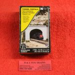 1156 Woodland Scenics N scale concrete double tunnel portal