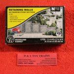 1161 Woodland Scenics N scale Random Stone retaining walls