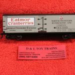20002010 Atlas HO scale Eatmor Cranberries 40' wood side reefer car
