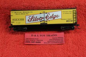 Atlas HO scale Silver Edge 40' wood side reefer car